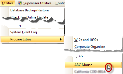 Procare Extras (Add-On) for ABC Mouse