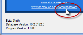 ABC Mouse Forgot Password Link